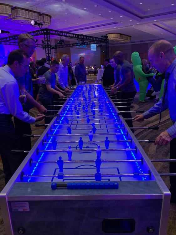 Giant Foosball Table Rental