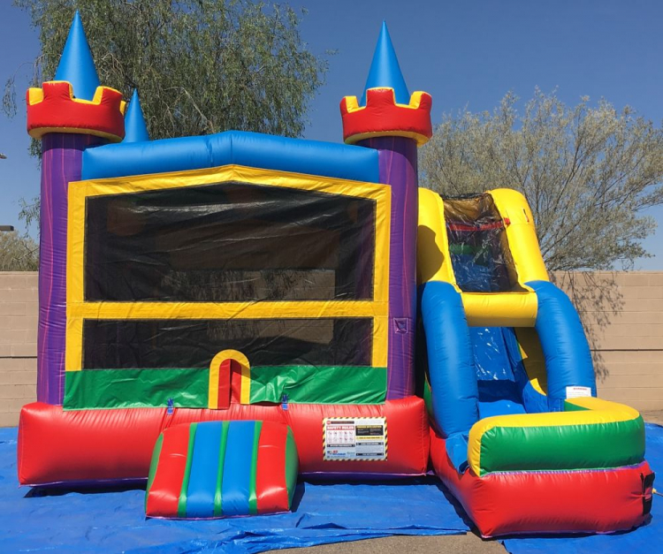 inflatable castle combo rental