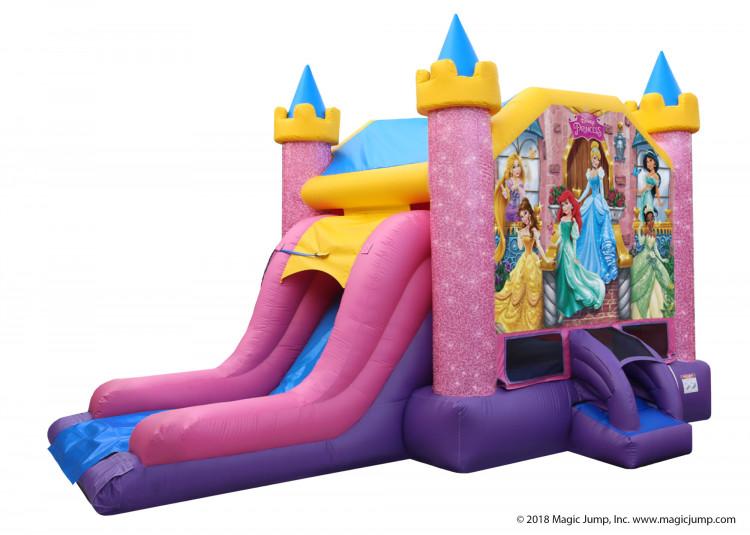 Disney Princess Water Bounce Combo - Wet