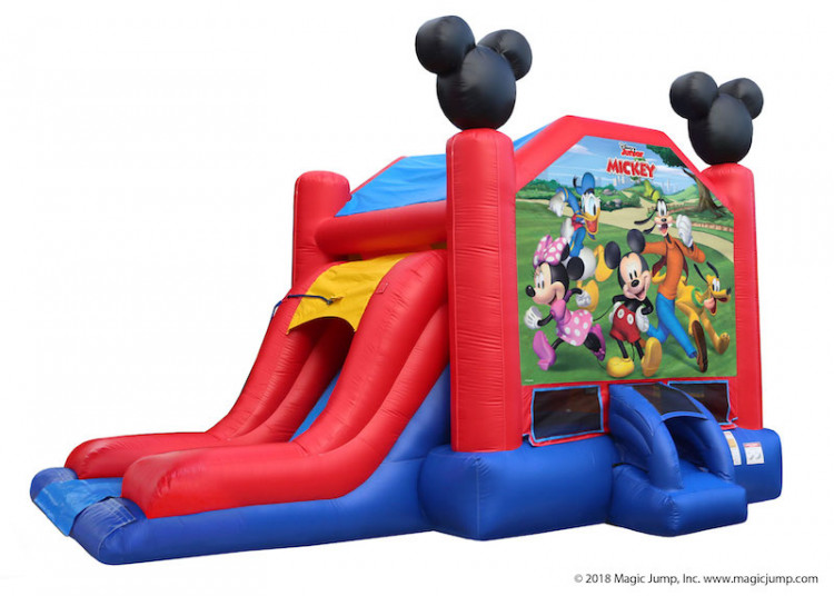 Mickey Mouse Water Bouncer Combo - Wet