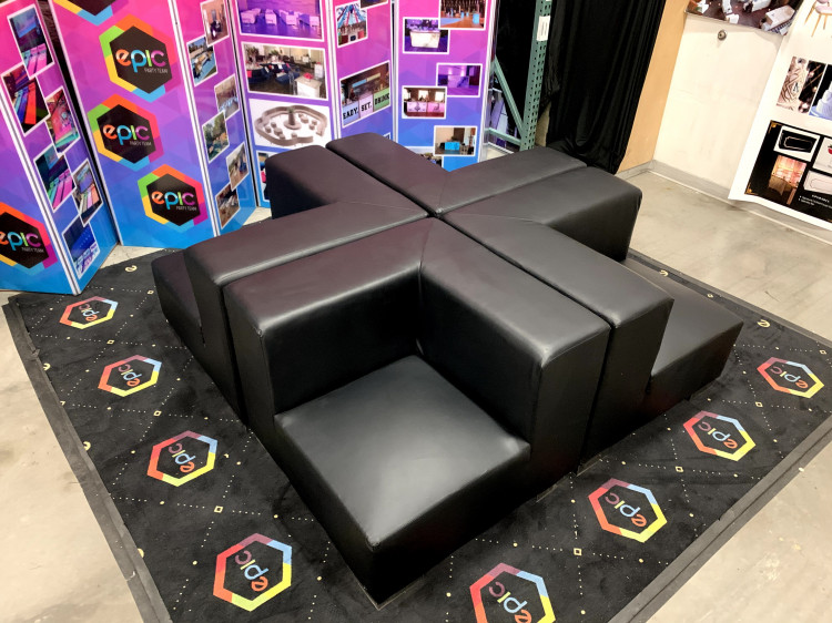 Mondrian - Quad Lounge - Black