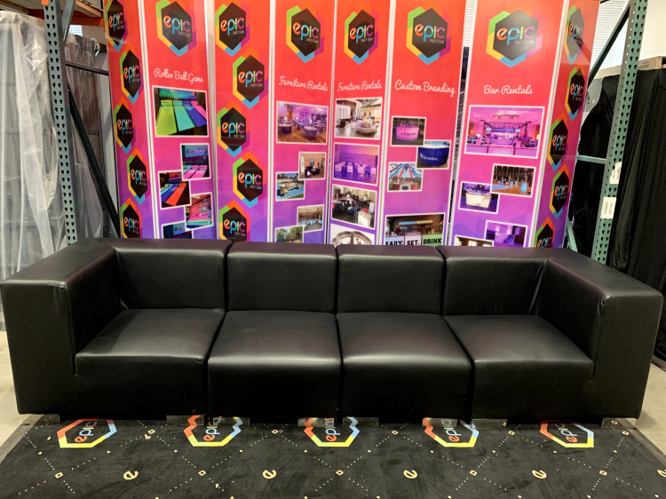 Mondrian - Sofa XL - Black