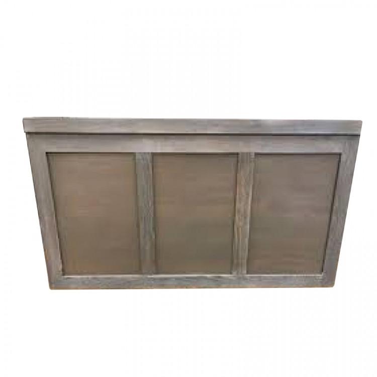 Bar - Brooks 6ft Wood - Gray Wash