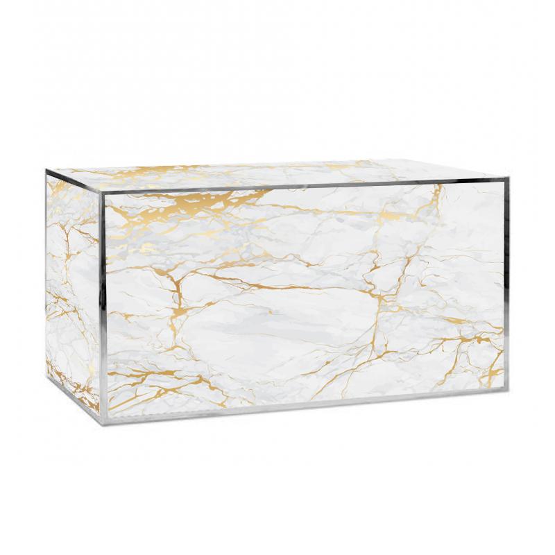 gold marble bar