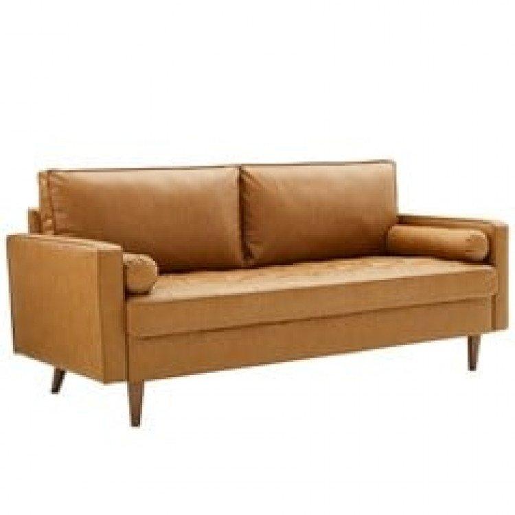 Henry Sofa - Camel Leather